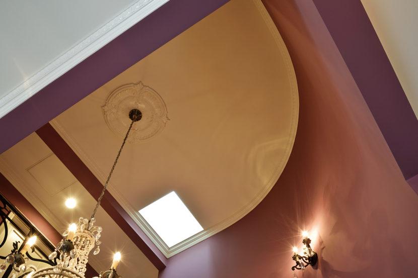 T様邸 玄関吹き抜け天井