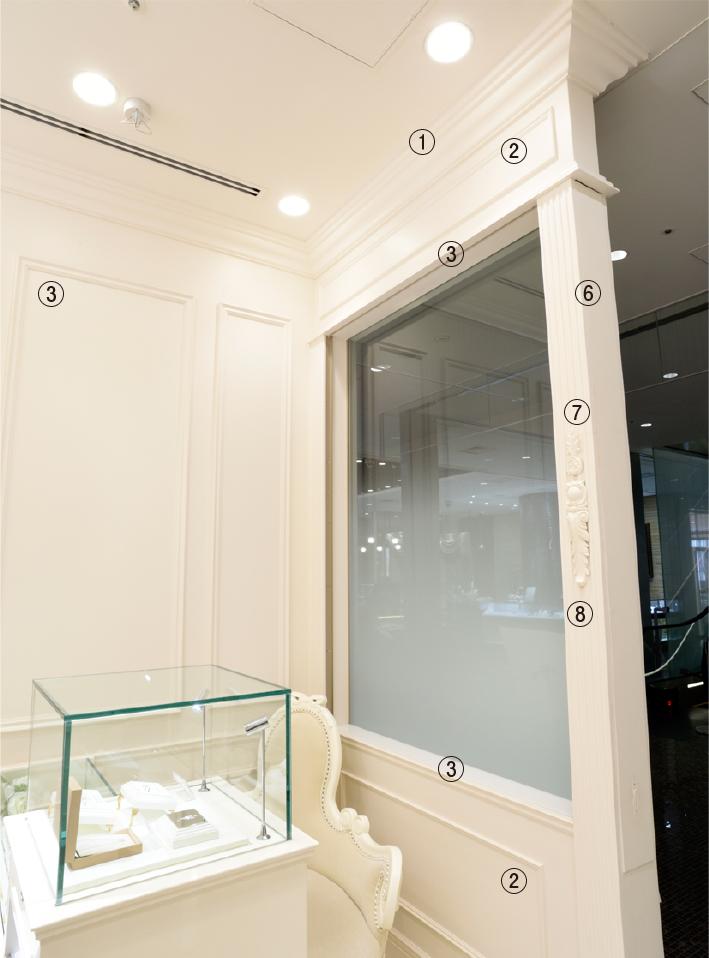 天井廻り・壁面装飾case13-2
