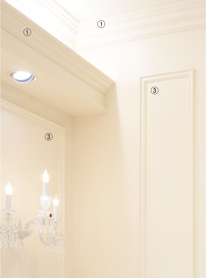天井廻り・壁面装飾case13-3