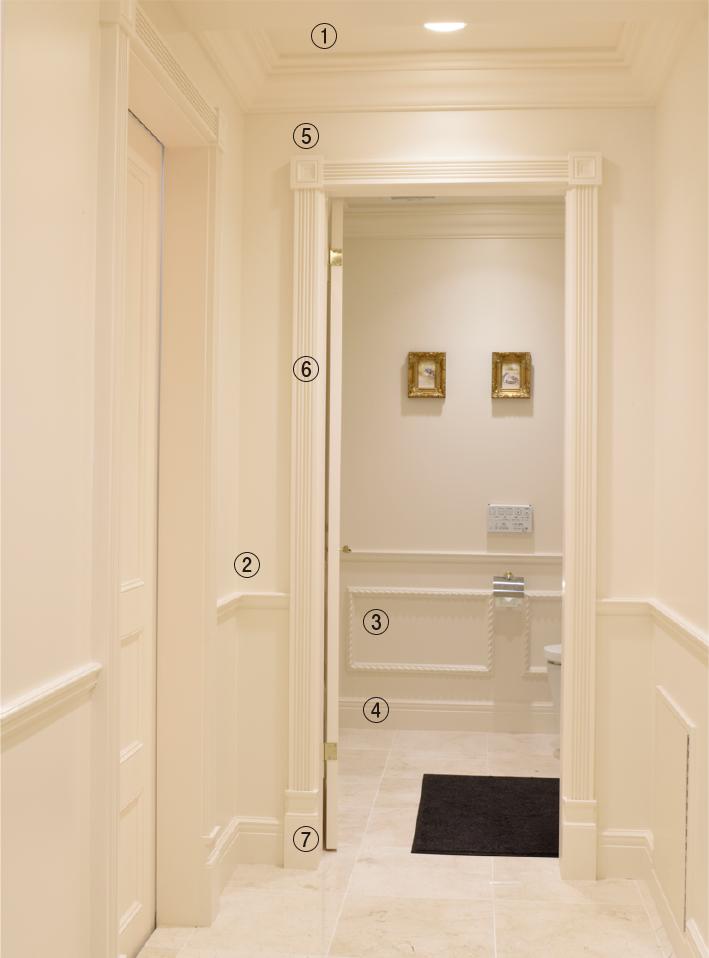 ドア廻り装飾