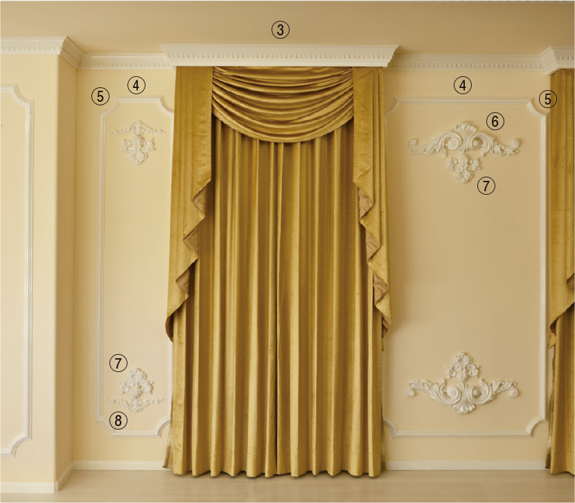 壁面装飾case3-8