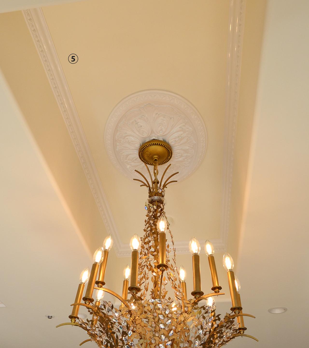 エレガンスPU天井装飾