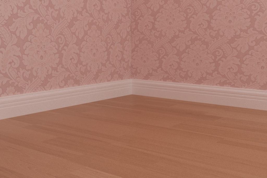 寝室2 - 巾木