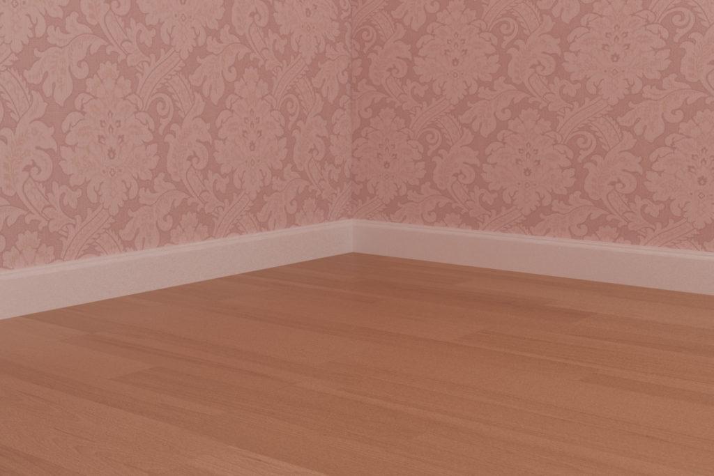寝室3 - 巾木