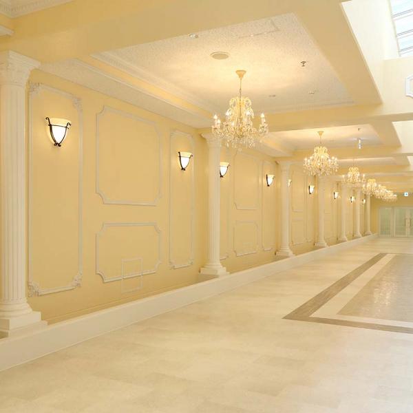 興國高等学校 アリーナ[新北館]増築工事 廊下